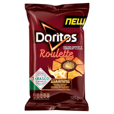 Doritos Roulette Maischips Nacho Cheese & Tabasco Flavour 185g