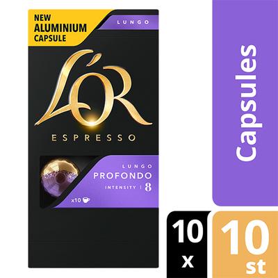 L'OR espresso Lungo Profondo capsules 100 stuks
