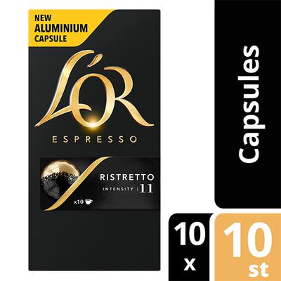 L'OR espresso Ristretto capsules 100 stuks