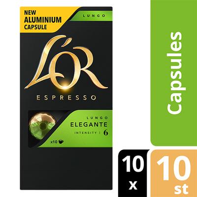 L'OR espresso Lungo Elegante capsules 100 stuks