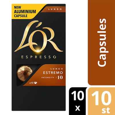 L'OR espresso Lungo Estremo capsules 100 stuks