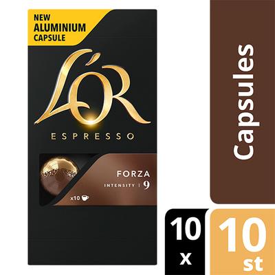 L'OR espresso Forza capsules 100 stuks