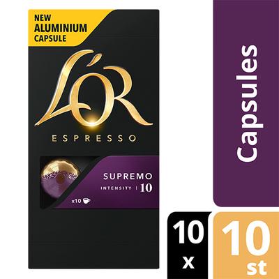 L'OR espresso Supremo capsules 100 stuks