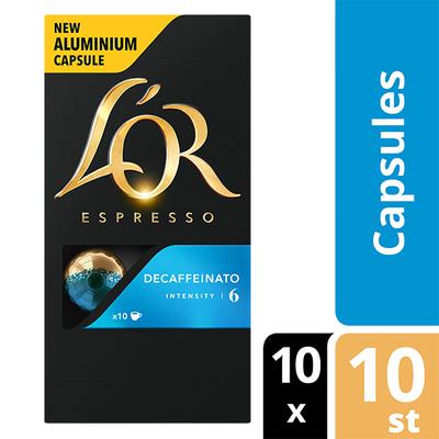 L'OR espresso Decaffeinato capsules 100 stuks