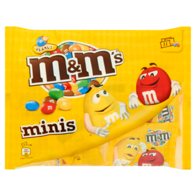 M&M'S Chocolade M&M's Peanut mini's