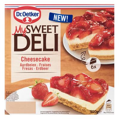Dr. Oetker Aardbeien cheesecake