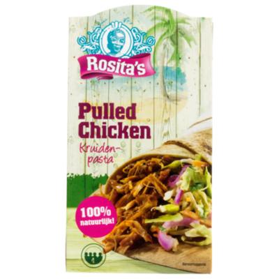 Rosita's Pulled chicken kruidenpasta