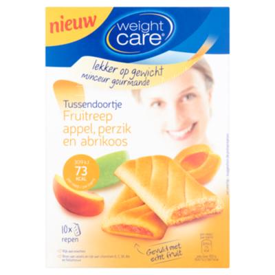 Weight Care Snack reep abrikoos perzik