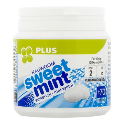 Huismerk Kauwgom sweetmint