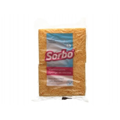 Sorbo Spons viscose small 2st