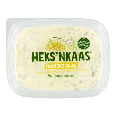 Heks'nkaas Mosterd dille