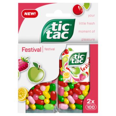 Tic-Tac Duopack festival