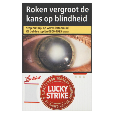 Lucky Strike Red L 20