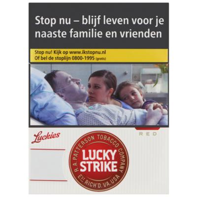 Lucky Strike Red xxl