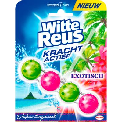 Witte Reus Kracht actief exotisch