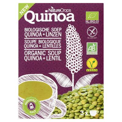 Nature Crops Bio quinoa linzensoep