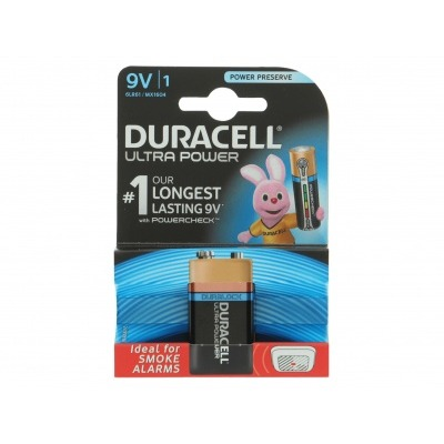 Duracell Batterijen ultrapower 9 volt