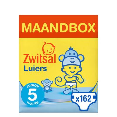 Zwitsal Luiers junior maandbox