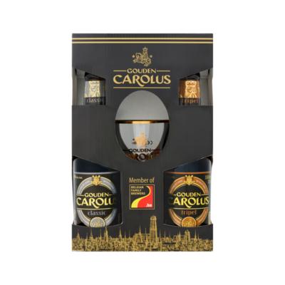 Gouden Carolus Flessen + Glas