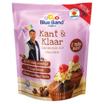Blue Band K&K cupcakes chocola