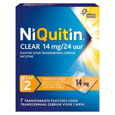 Niquitin Clear nr. 2