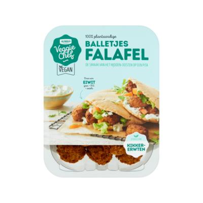 Huismerk Veggie Chef 100% Plantaardige Balletjes Falafel