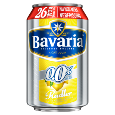 Bavaria 0.0% Alcoholvrij Radler Citroen