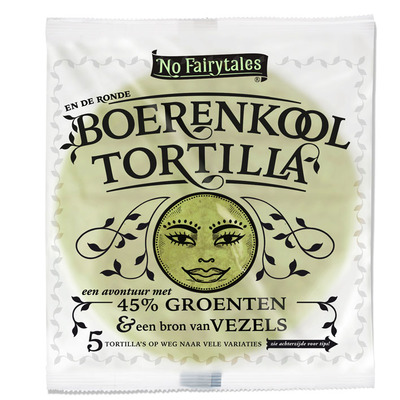 No Fairytales Boerenkool tortilla