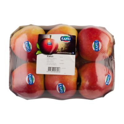 Appels kanzi verpakt