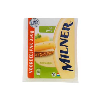 Milner Jong 30+ Kaas 14 Plakken Voordeelpak