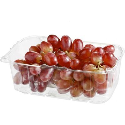 Pitloze rode druiven verpakt