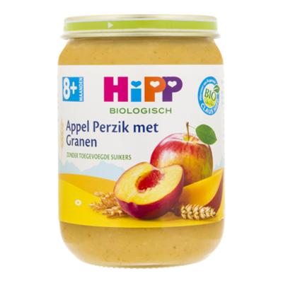 HiPP 8+ Appel perzik granen biologisch