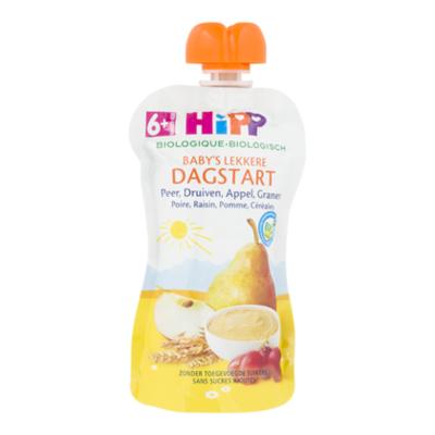 HiPP 6+ Peer druiven appel granen bio