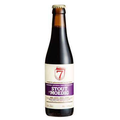 Brouwerij de 7 Deugden stout + moedig 33 cl.