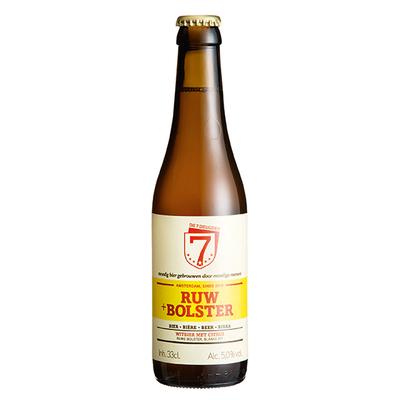 Brouwerij de 7 Deugden ruw + bolster 33 cl.