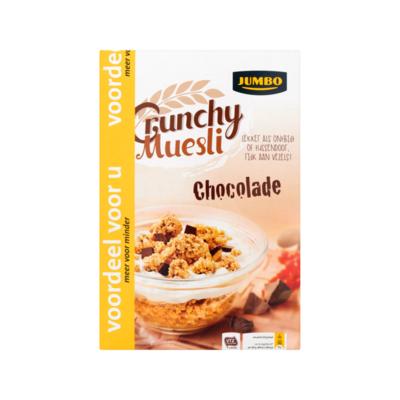 Jumbo Crunchy Muesli Chocolade Voordeel