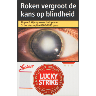 Lucky Strike Red l