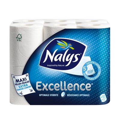 Nalys Excellence 5-laags maxi-vel toiletpapier