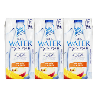 DubbelFrisss Water mango & appel