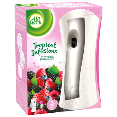 Airwick Freshmatic tropical infus bessenexplosie