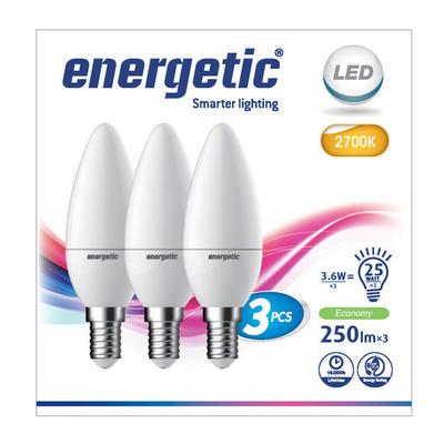 Energetic Led kaars 25w