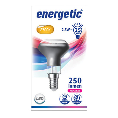 Energetic Led reflecterend e14 25wd