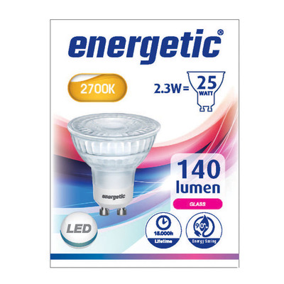 Energetic Led reflecterend g10 25w
