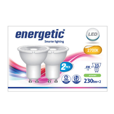 Energetic Led reflecterend g10 35w