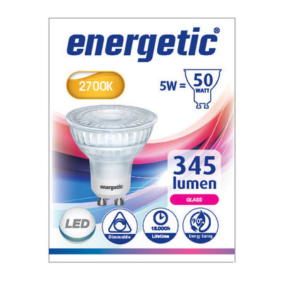 Energetic Led reflecterend g10 50wd