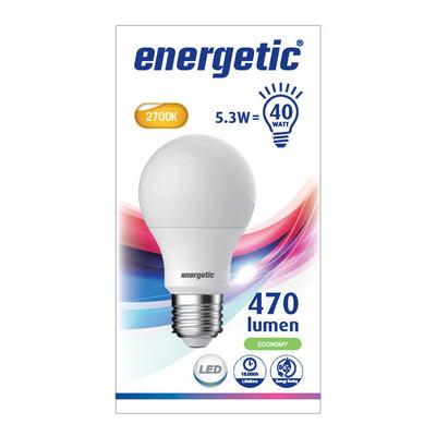 Energetic Led standaard e27 40w
