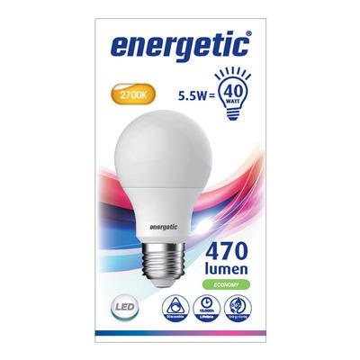 Energetic Led standaard e27 40wd