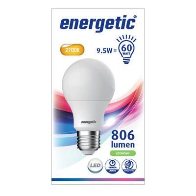 Energetic Led standaard e27 60w