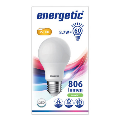 Energetic Led standaard e27 60wd