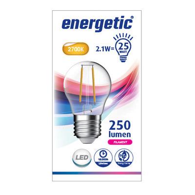 Energetic Fil kogel e27 25w